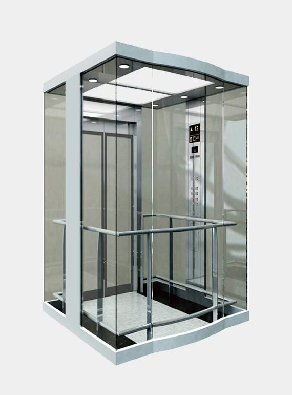 青岛观光电梯